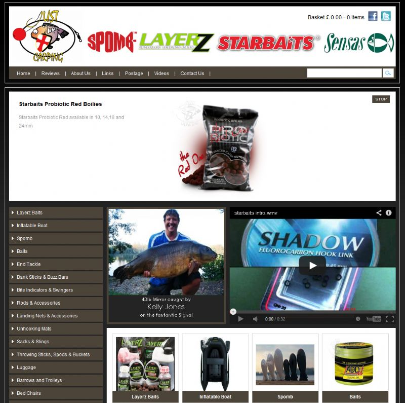 Chelmsford Essex Web Design - Just Carping