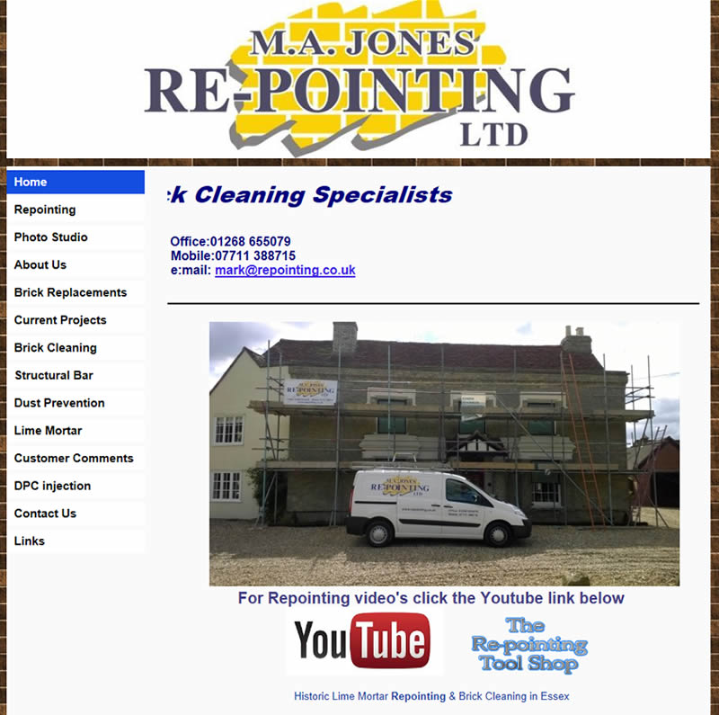 M A Jones Repointing Limited